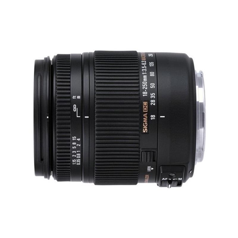 Sigma 18-250mm F3.5-6.3 DC Macro OS HSM - Nikon AF Thumbnail Image 0